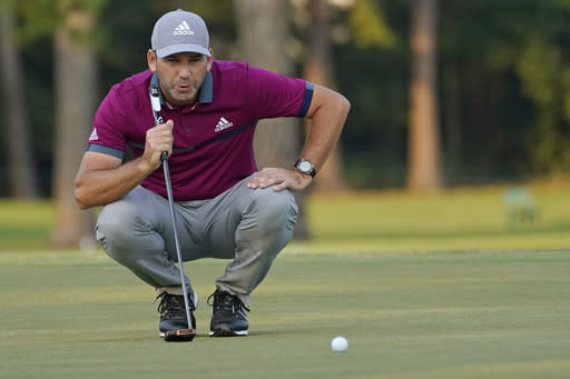 Garcia tied for lead going into final round in Mississippi