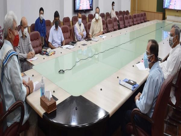 The Administrative Council holding a meeting on Covid relief (Photo/ANI)