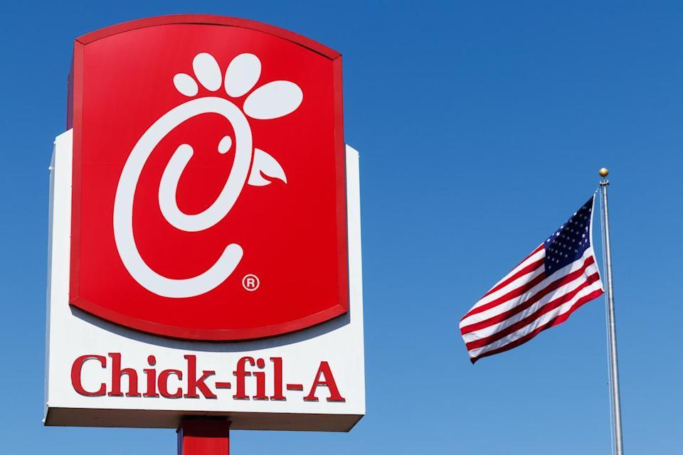 "<p>Chick-fil-A is the fast food of choice in Colorado. For those craving a Chicken Biscuit, you better get there before 10:30 a.m, <a href=""https://www.thedailymeal.com/chain-breakfast-stop-serving?referrer=yahoo&category=beauty_food&include_utm=1&utm_medium=referral&utm_source=yahoo&utm_campaign=feed"" rel=""nofollow noopener"" target=""_blank"" data-ylk=""slk:when the chain stops serving breakfast"" class=""link rapid-noclick-resp"">when the chain stops serving breakfast</a>.</p>"