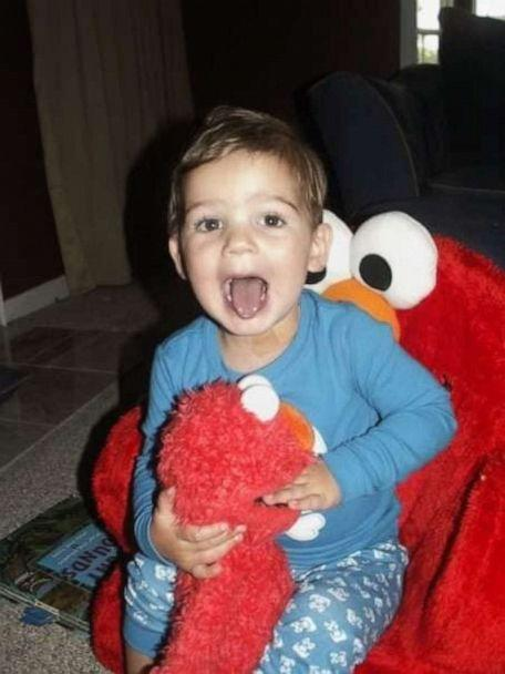 PHOTO: Candy Scarbrough was reunited with her son's long-lost Elmo. (Candy Scarbrough )