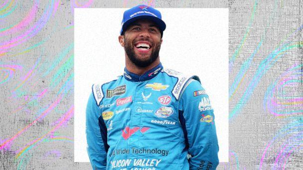 PHOTO: Bubba Wallace (Getty Images, ABC News Photo Illustration)