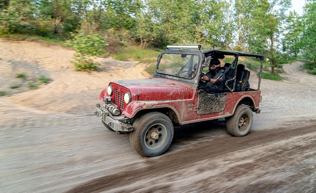 "<p>Today, the original Jeep design lives on in the form of <a href=""https://www.caranddriver.com/news/a19057345/detroit-built-mahindra-roxor-off-road-vehicle-revealed-is-this-the-mini-jeep-we-need/"" target=""_blank"">the Mahindra Roxor</a>.</p>"