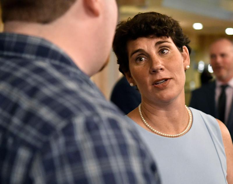 After losing a congressional race in 2018, Kentucky Democrat Amy McGrath is running for U.S. Senate.