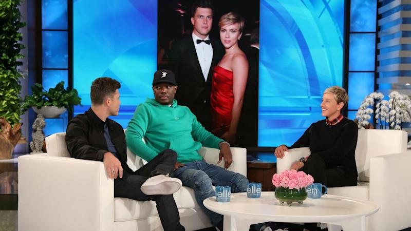 Michael Che Shares How Colin Jost Has 'Changed' Since Dating Scarlett Johansson