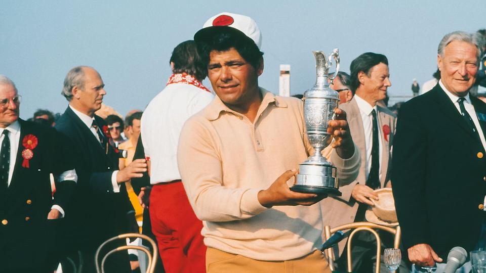 <p>Eighty-year-old Lee Trevino was still playing on the Champions Tour as recently as 2011. A household name even for people who don't care about golf, Trevino turned pro in 1960 and didn't move onto the Tour Champions until 1989. He racked up a remarkable 29 Tour victories, including six majors, and another 29 Champions wins.</p>