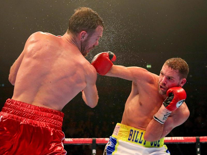 Golovkin is open to the idea of fighting Saunders (Getty)