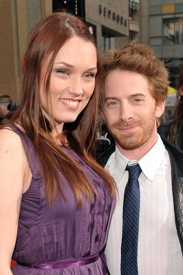 """<a href=""""http://movies.yahoo.com/movie/contributor/1800018683"""">Seth Green</a> and wife at the Los Angeles premiere of <a href=""""http://movies.yahoo.com/movie/1810041991/info"""">Prince of Persia: The Sands of Time</a> - 05/17/2010"""