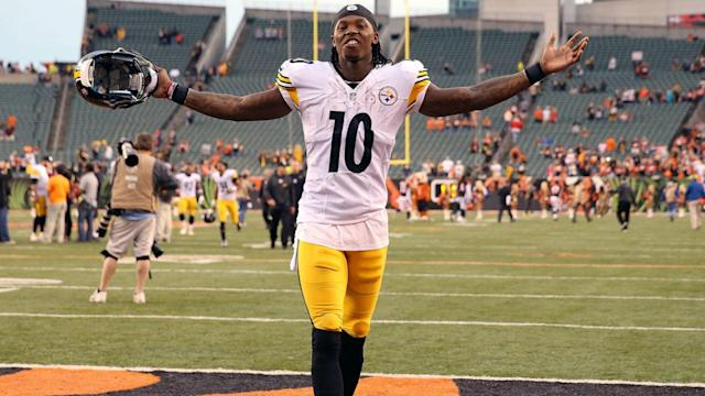 The wide receiver hasn't played since the 2015 season due to multiple violations of the NFL's substance-abuse policy.