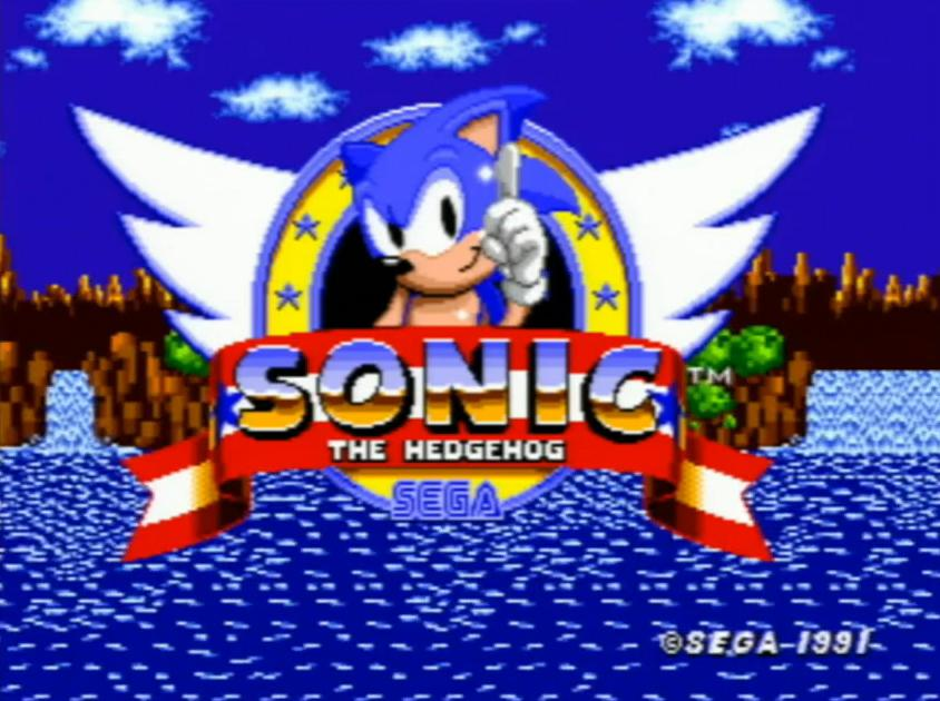 The classic design of Sonic from the 1991 SEGA game. (SEGA)