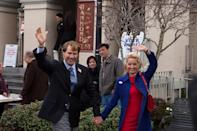 """Will Ferrell and Katherine LaNasa in Warner Bros. Pictures' """"The Campaign"""" - 2012"""