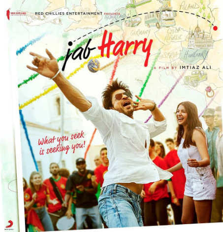 Check out the first look posters of the Shah Rukh Khan - Anushka Sharma starrer Jab Harry Met Sejal