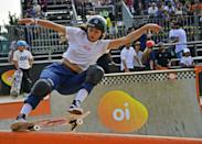 <p><em>Above: Armanto competes in the finals of the World Park Skateboarding Championship in Sao Paulo in September 2019</em></p> <p><strong>POPSUGAR: When did you first start skateboarding and what inspired you to do so?</strong></p> <p><strong>Armanto:</strong> I first started skating when I was 14 and my younger brother just wanted to try it. My mom ended up taking us both to the skate park. We had had skateboards at the time, but had never learned how to ride them. Once we got signed up, pretty much it was just a brother and sister competition of who was going to go down the bank first . . . I wasn't going to just let my younger brother show me up.</p> <p><strong>Steamer:</strong> I remember having a skateboard in my carport, a little plastic one when I was a tiny child - like, 4 or 5. But I think around 1984, I was 9 years old, and skateboarding was pretty big. And that's why I got into it, because it was all over the television, and everybody was doing it. And what got me amped on it was just how anti-everything it was. Rebellions and punk rock, if you will, is what drew me into it.</p> <p><strong>Nishimura:</strong> The first time I started skateboarding was when I was 8 years old. My father used to skate when he was younger, so there was a skateboard at our house and one day I just felt like I wanted to give it a try. I've been skating ever since.</p>