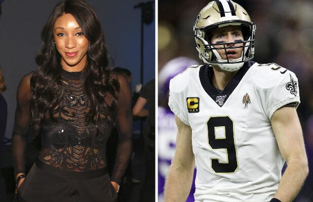 ESPN's Maria Taylor Doesn't Buy Drew Brees' Apology: 'Shame on You' (Video)