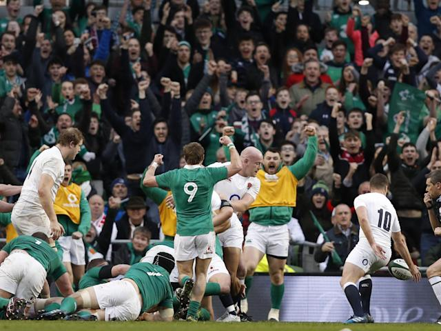 Iain Henderson scored the try for Ireland: Getty
