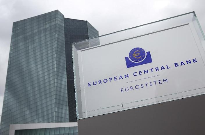 The European Central Bank is to begin a 1.1-trillion-euro bond buying programme (AFP Photo/Daniel Roland)