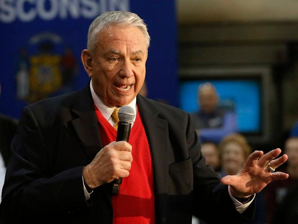 Wisconsin Tommy Thompson (Copyright 2017 The Associated Press. All rights reserved.)