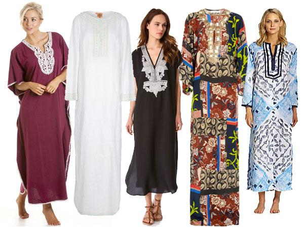 how to wear kaftans every day