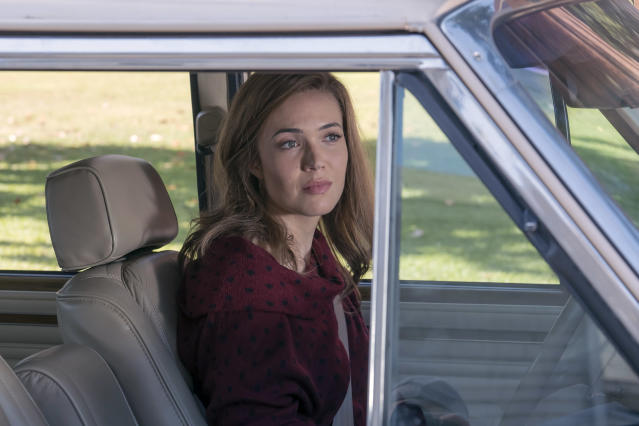 <p>Mandy Moore as Rebecca in NBC's <i>This Is Us</i>. <br><br>(Photo: Ron Batzdorff/NBC) </p>