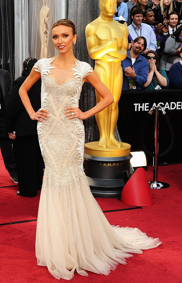 Giuliana Rancic arrives at the 84th Annual Academy Awards in Hollywood, CA.