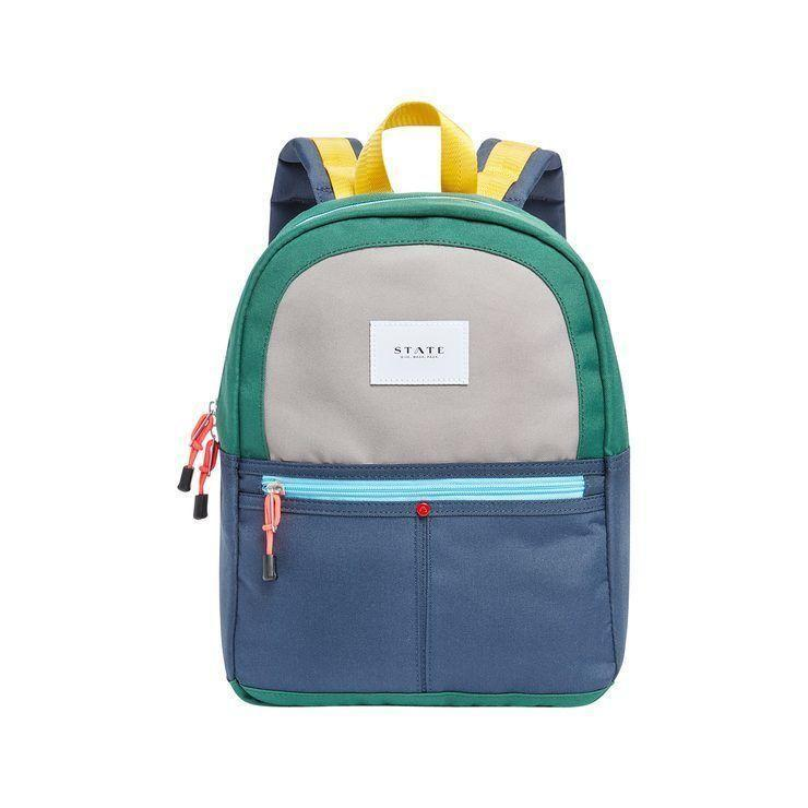 """<p><strong>State Bags</strong></p><p>statebags.com</p><p><strong>$60.00</strong></p><p><a href=""""https://go.redirectingat.com?id=74968X1596630&url=https%3A%2F%2Fstatebags.com%2Fcollections%2Fkids-all%2Fproducts%2Fmini-kane-backpack-color-block-green-navy&sref=https%3A%2F%2Fwww.redbookmag.com%2Flife%2Fg34770397%2Fgifts-that-give-bac1%2F"""" rel=""""nofollow noopener"""" target=""""_blank"""" data-ylk=""""slk:SHOP NOW"""" class=""""link rapid-noclick-resp"""">SHOP NOW</a></p><p>What little kid wouldn't be thrilled to receive this colorful backpack? You can also let them know that their cool new bag helps other American kids—the brand delivers fully-stocked backpacks at """"bag drop rallies,"""" amongst other initiatives. </p>"""