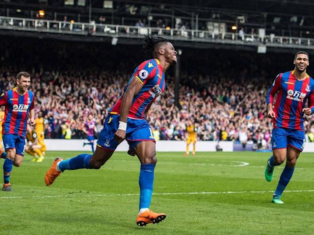 Wilfried Zaha dampens Tottenham transfer talk by stating his desire to stay at Crystal Palace