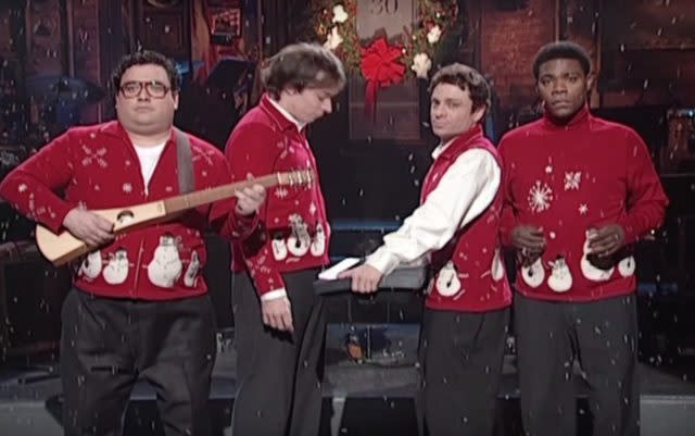 "Watch Colleen Green & Horatio Sanz Play   SNL 's ""I Wish It Was Christmas Today"""