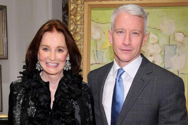 PHOTO: Gloria Vanderbilt and Anderson Cooper attend the launch party for 'The World Of Gloria Vanderbilt' at the Ralph Lauren Women's Boutique, Nov. 4, 2010, in New York. (Dimitrios Kambouris/Getty Images)