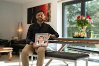 Sanjiv Patel, 54, was in hospital with Covid-19 when doctors told him that his father would not survive