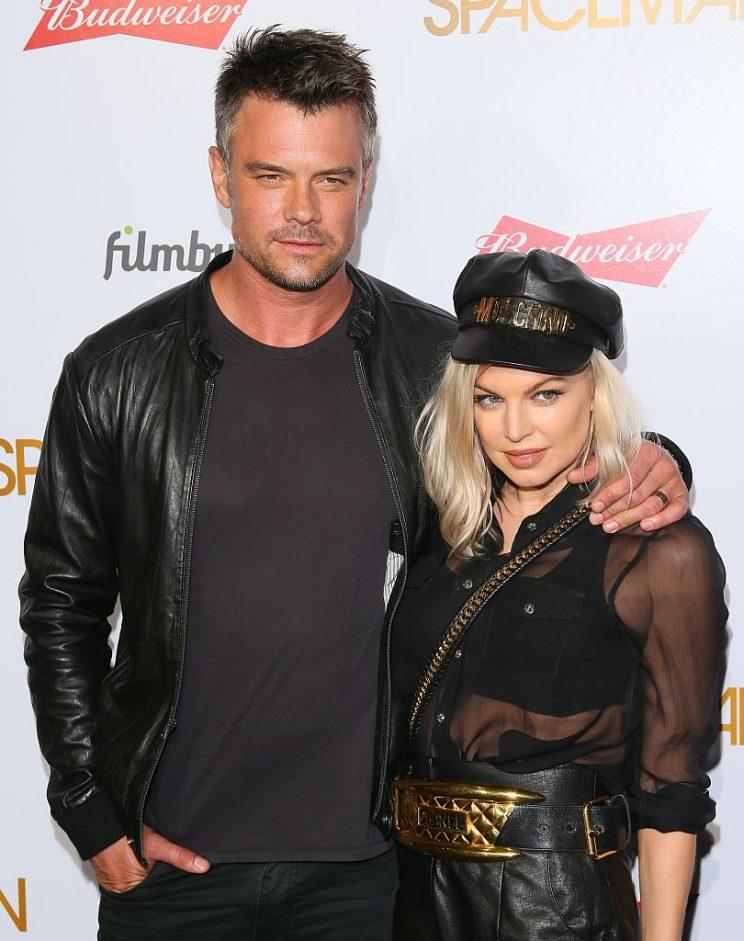 Josh Duhamel and the Duchess have been hitched for eight years. (Photo: JB Lacroix/WireImage)
