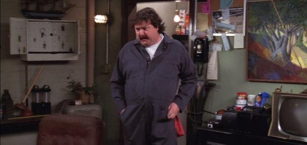 <p>Treeger was the burly building superintendent of Monica, Rachel, Chandler and Joey's apartment. He made Rachel cry and took dancing lessons with Joey.</p>