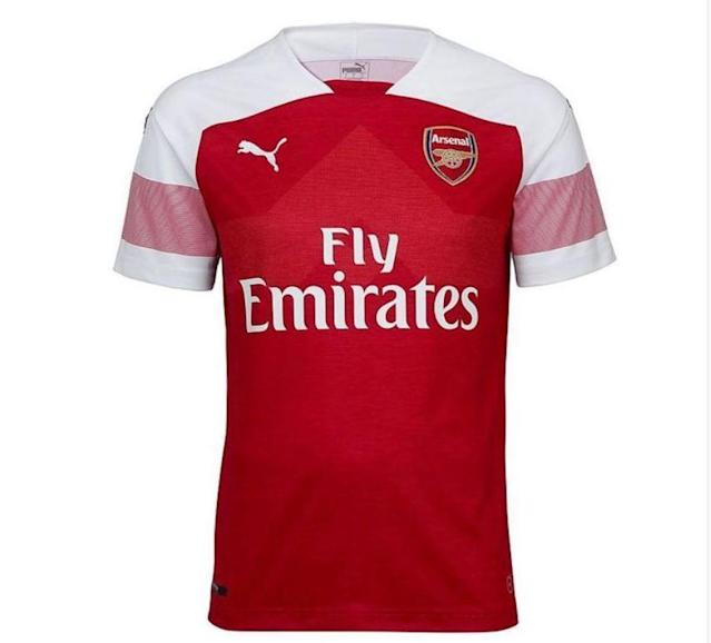 Arsenal unveil new home kit for 2018/19 season