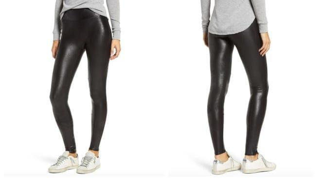 These shiny leggings will take any outfit up a notch.