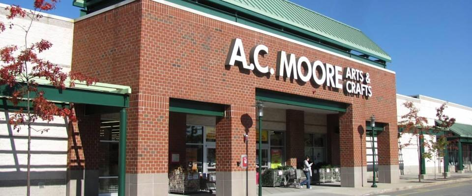An A.C. Moore store in Framingham Massachusetts