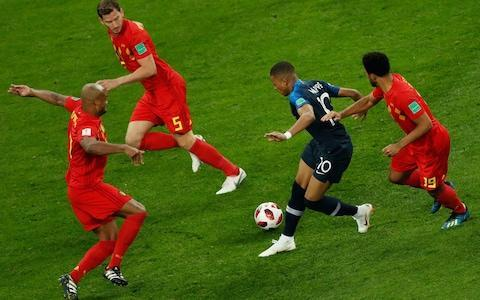 <span>France's Kylian Mbappe looks a talent and has demonstrated his brilliance many times at this tournament </span> <span>Credit: AFP </span>