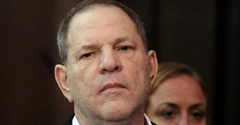 Harvey Weinstein reprimanded for using cell phone during rape trial