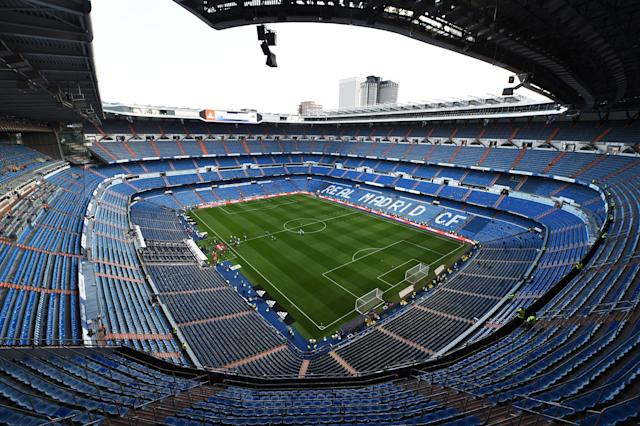 The Santiago Bernabeu seats more than 80,000 people, but less than 50,000 were there to watch on Sunday