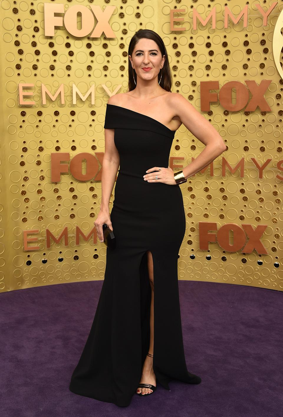"""<h1 class=""""title"""">D'Arcy Carden in Romona Keveža and Marco Bicego and Misahara jewelry</h1><cite class=""""credit"""">Photo: Getty Images</cite>"""