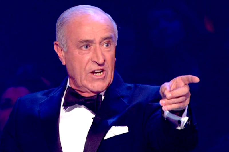 Mocked: Len Goodman's comments didn't sit well with fans of the show: BBC