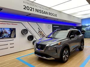 Nissan Studio allows visitors to virtually experience the all-new 2021 Nissan Rogue