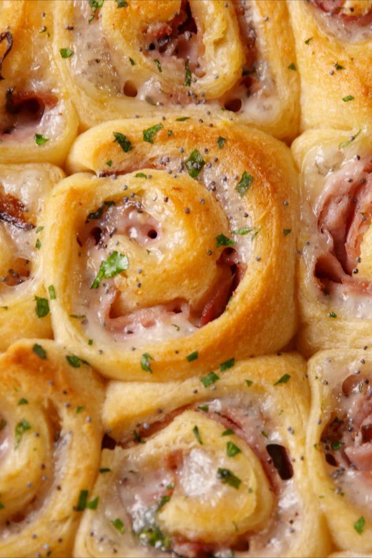 "<p>We'd take a buttery, flaky crescent roll over sandwich bread any day.</p><p>Get the recipe from <a href=""https://www.delish.com/cooking/recipe-ideas/recipes/a51423/ham-and-cheese-pinwheels-recipe/"" rel=""nofollow noopener"" target=""_blank"" data-ylk=""slk:Delish"" class=""link rapid-noclick-resp"">Delish</a>.</p>"