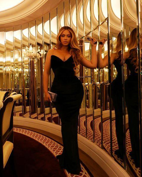 """<p><strong>6 October</strong></p><p>Beyoncé looked effortless in Valdrin Shahiti for the opening night of the London Film Festival and the premiere of The Harder They Fall, which was produced by her husband, Jay-Z.</p><p><a href=""""https://www.instagram.com/p/CUtowJHAYZE/"""" rel=""""nofollow noopener"""" target=""""_blank"""" data-ylk=""""slk:See the original post on Instagram"""" class=""""link rapid-noclick-resp"""">See the original post on Instagram</a></p>"""