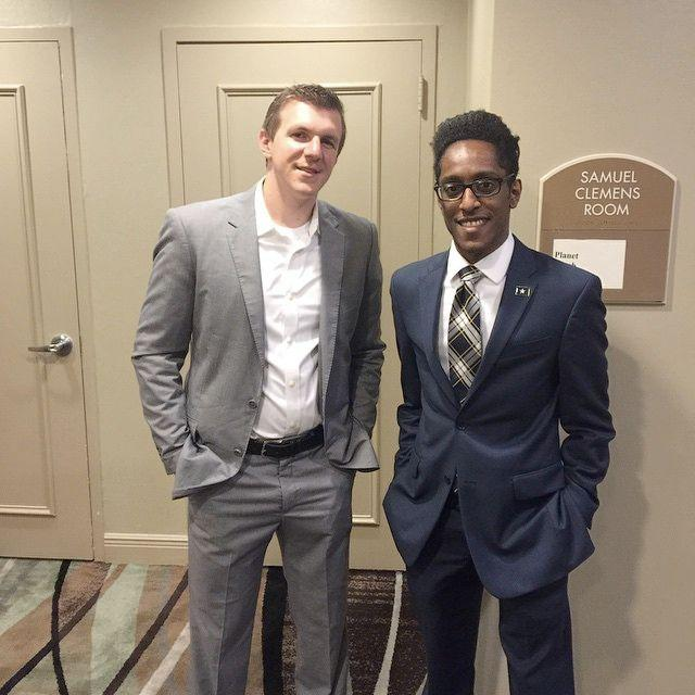 James O'Keefe with Ali Alexander in Baton Rouge. (Photo: Instagram: Ali Alexander)