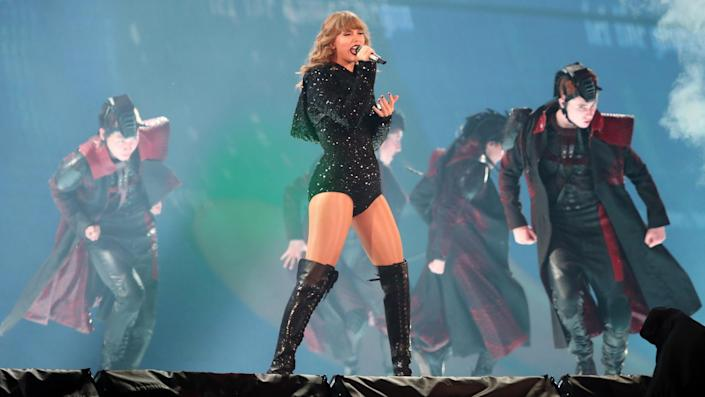 """<ul> <li><strong>Net worth: </strong>$400 million</li> </ul> <p>Taylor Swift has received nearly every award the music industry has to offer. She has made headlines for her blockbuster stadium tours and her endorsement deals, but she also brings in big bucks from smart negotiations with her record label and streaming services. In 2018, she left her first label, Big Machine Records, to sign with Republic Records in a deal that included ownership of all her master recordings under the <span>label. This year, she began the re-release of her first six albums, starting with """"Fearless (Taylor's Version),"""" to put her music back under her control.</span></p>  <p><small>Image Credits: Gary Day/REX</small></p>"""