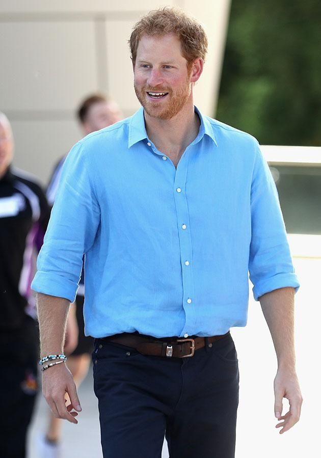 Prince Harry has opened up about his pain after his mother's death. Photo: Getty.