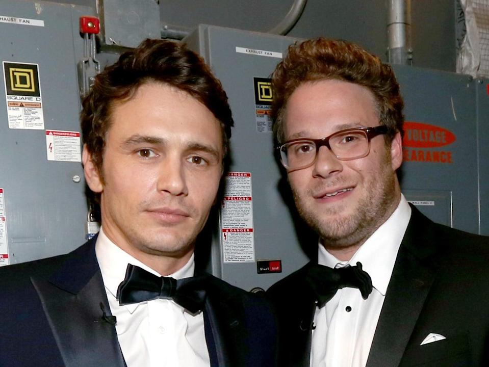 James Franco and Seth Rogen's friendship affected by former's misconduct allegationsGetty Images for Comedy Central