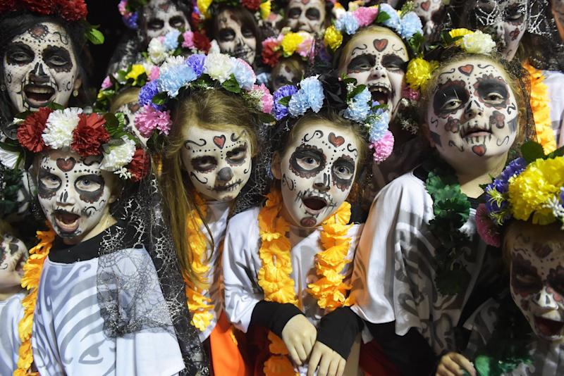Derry is home to Europe's biggest Halloween celebration: Getty