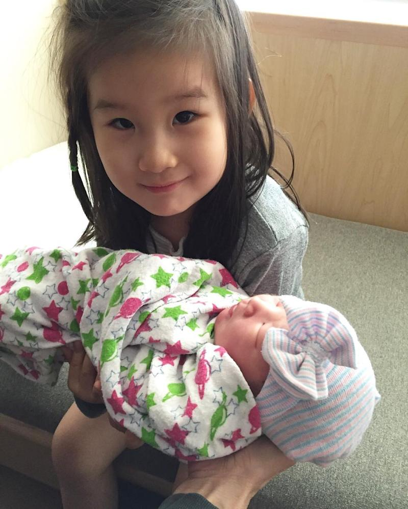 lisa ling welcomes daughter jett