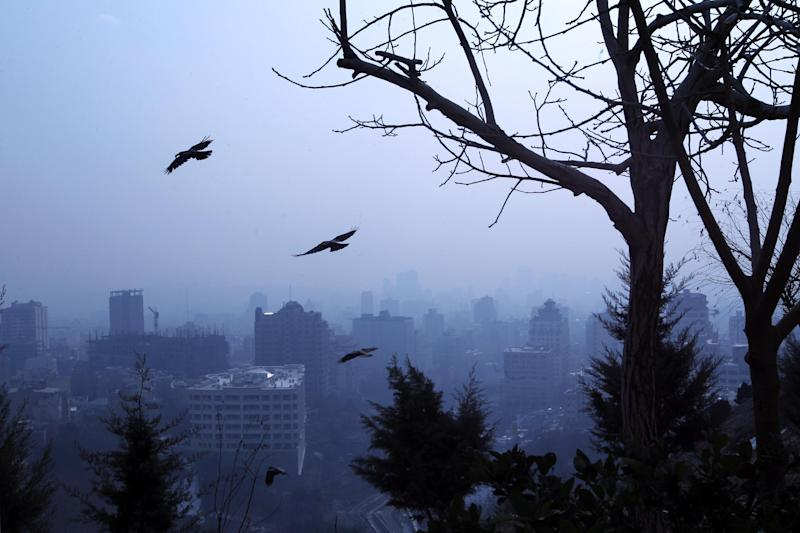 File photo of Iranian capital Tehran, pictured on January 7, 2013