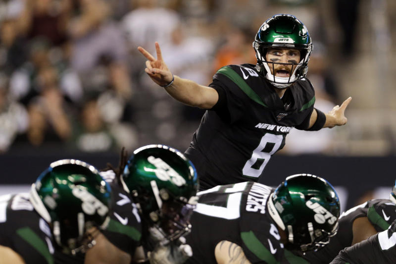 Falk goes from practice squad to sudden starter for Jets