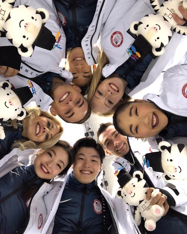 <p>shibsibs: This Team!<br> (Photo via Instagram/shibsibs) </p>